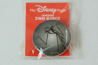 Disney Store JAPAN Can Badge Button Countdown 122 / 2000 Kind Jack Nightmare