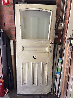 Door Antique Cedar Timber Federation Entry Front Used House Wooden Secondhand