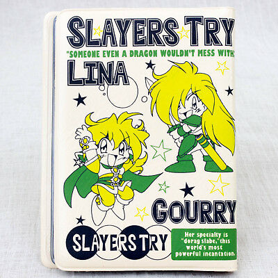 Slayers Try Card Cas Holder Lina Gourry Ameria Zelgadiss Zelloss JAPAN ANIME