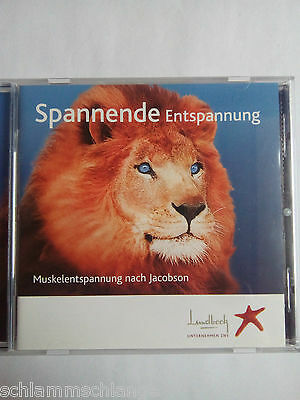 Spannende Entspannung, Muskelentspannung nach Jacobson, CD incl. Booklet