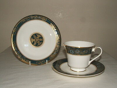 Royal Doulton 1St Class Carlyle Rare Design Tea Trio Truly Stunning