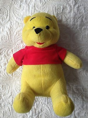 Disney's Winnie The Pooh Plush Soft Toy 9 inches seated