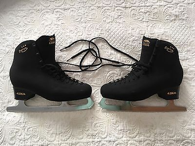 Men's Black Edea Overture Ice Skates Size UK9 / 290