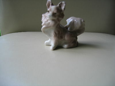Lladro Papillon Dog Figurine Excellent Condition Issued `71.