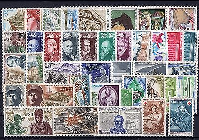 FRANCE n** ANNEE 1969  COMPLETE  LUXE   cote 29