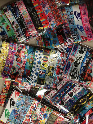 Ribbon Mixed Grosgrain Packs 20 Designs - 50cms lengths -Craft Bargain Packs