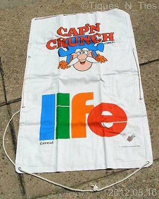 Awesome Vintage1970s Captain Crunch / Life Cereal Premium Sevylor Raft (FF)