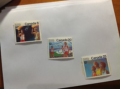 Canadian Stamps 1976 Montreal Olympic Stamps