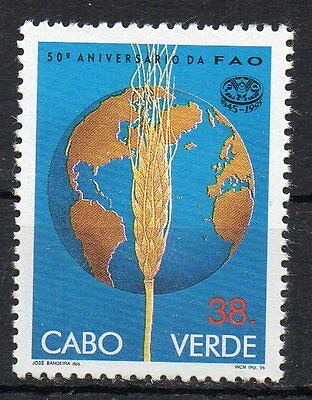 STAMPS - CAPE VERDE - 50th ANNIVERSARY OF THE FAO - 1995 -