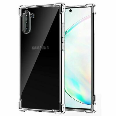 TPU Crystal clear 360°Soft Ultra thin Case Cover For Samsung Galaxy S10 S10plus
