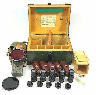 Military Ir Infrared Detector Set Flashlight Soviet Army Nighti Vision1 Nspu Ak
