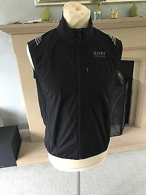 Gore Windstopper Cycling Gilet Black Medium