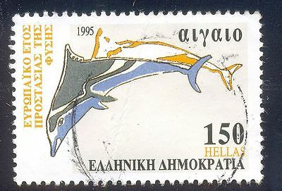 Greece 150 Used Stamp A24976  Dolphin