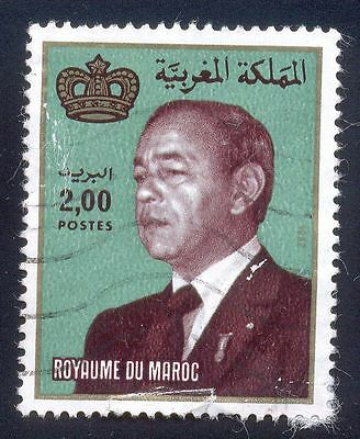 Morocco 2.00 Used Stamp A24807 Royaume Du Maroc