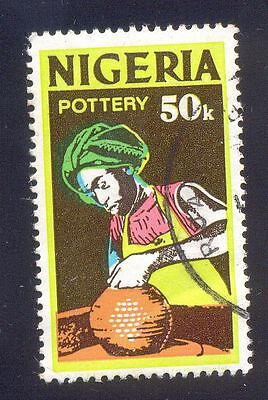 Nigeria 50K Used Stamps A25610 Pottery