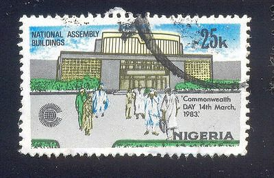Nigeria 25K Used Stamps A25475 National Assembly Building