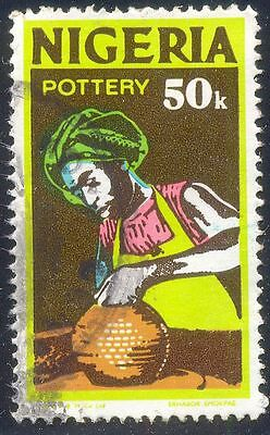 Nigeria 50K Used Stamps A25761 Pottery