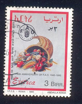 Eritrea 3B Used Stamps A25410 Fao Vegetables