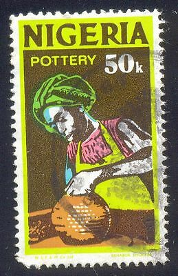 Nigeria 50K Used Stamps A25765 Pottery