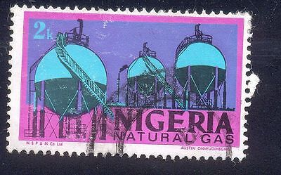 Nigeria 2K Used Stamps A25451 Natural Gas