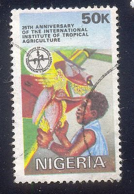 Nigeria 50K Used Stamps A25015 International Institute Tropical Agriculture