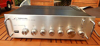 Realistic100W PA amplifier, As-new Condition. Very little signs of use!