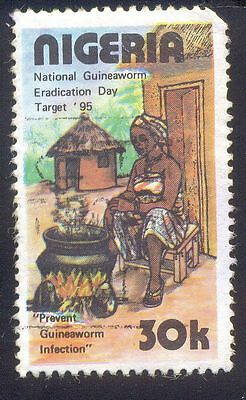 Nigeria 30K Used Stamps A26684 Prevent Guineasworm Infection