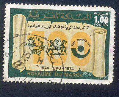 Morocco 1,00C Used Stamps A26657 Early Issue