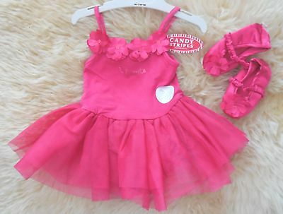"""NEW Baby Girl 3 Piece """"Tutu Cute"""" Outfit, size 00, Others Listed"""