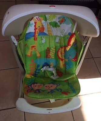 Fisher Price Rainforest Take Along Seat And Swing