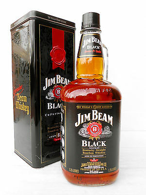 Jim Beam Black Label 8 Year 1.75Litre 86 Proof -Not Rare- IMPOSSIBLE!!!!!!
