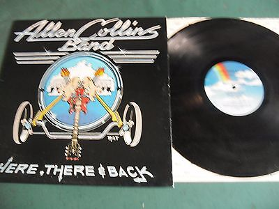 Allen Collins Band Lp - Here There & Back