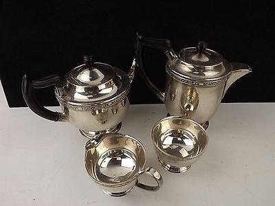 Viners of Sheffield Antique Alpha Plated Tea/Coffee Set Circa. 1836