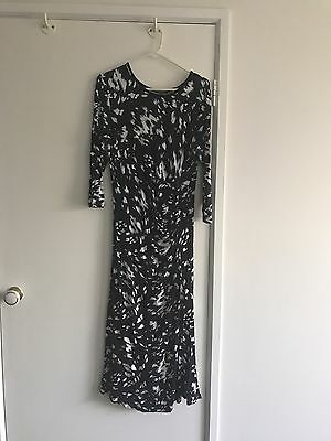 BNWT Patch Long sleeve maternity dress size M