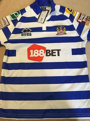 Wigan Warriors Brand New With Tags Shirt Small Mens Rugby League Jersey