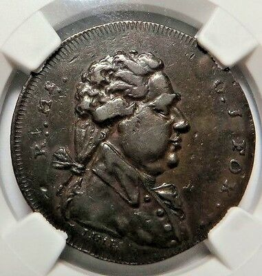 """Spence ! -- Middlesex Conder Token   Dh-763A   Ngc Xf-45   """" Never Die Slave """""""