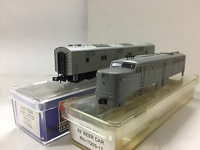 N Scale Kato PA Shell Complete, Life Like E7B Unpowered/dummy Undecorated