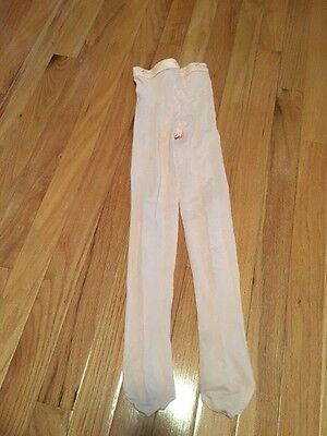 Capezio, pink ballet footed tights, Sz small, NWOT