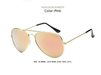 Best Aviator Sunglasses For Men Women Fashion Designer Eyeglasses Metal Lens