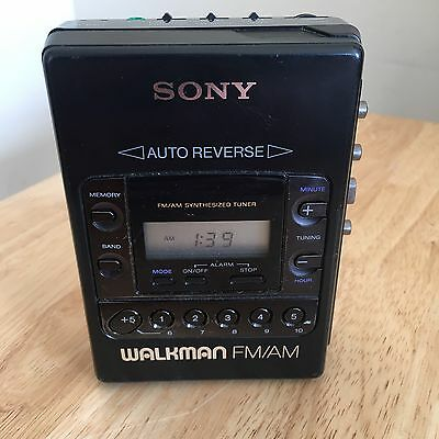 Sony WM-F2081 Portable Radio Cassette Player Walkman
