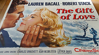 The gift of Love quad poster original vintage Tom chantrell poster 30 x 40 inch