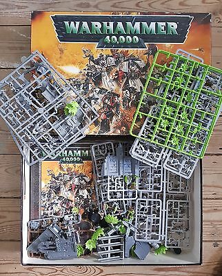 Warhammer 40K -- 40,000 -- 3Rd Edition Starter Set -- Unpainted, Mostly Complete