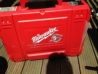 Milwaukee Drill, Charger & 3 X Batteries And Case