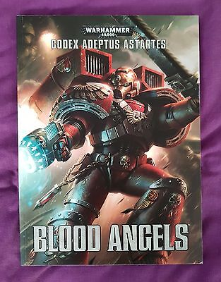 Codex: Blood Angels -- 40K 7Th Edition -- Softcover -- New -- 60% Off Rrp