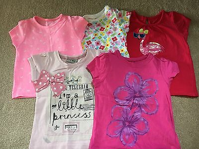 Girls Summer T Shirt Bundle  Age 12-18 Months