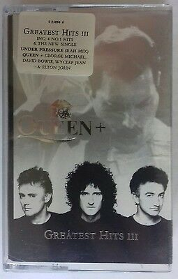 Queen + : Greatest Hits 3 Cassette / Tape (1999)