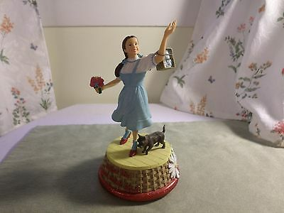 vtg dorothy &  toto  san fransico music box co. we are off to see the wizard