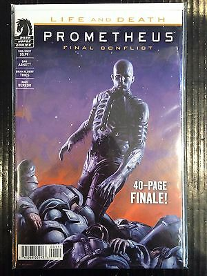 Prometheus Life and Death Final Conflict One-Shot NM- 1st Print Dark Horse Comic