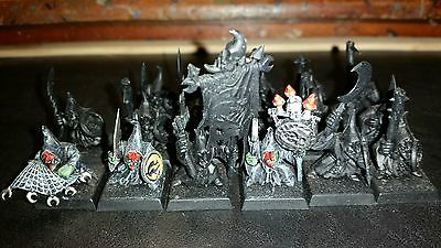 Warhammer Night Goblin's x 17. Built but unfinished.
