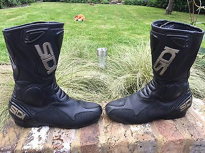Sidi Black Rain Motorcycle Boots Waterproof